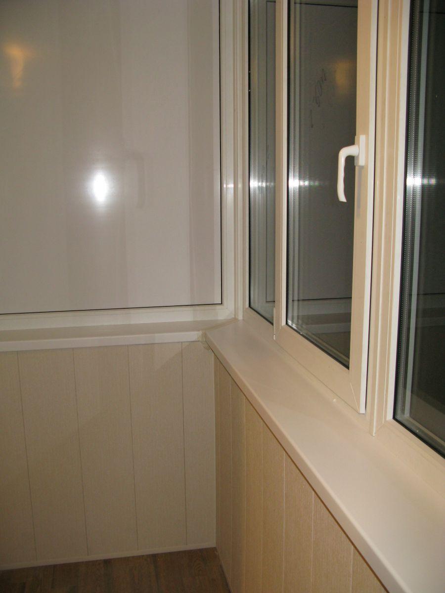 Боковая стена балкона..